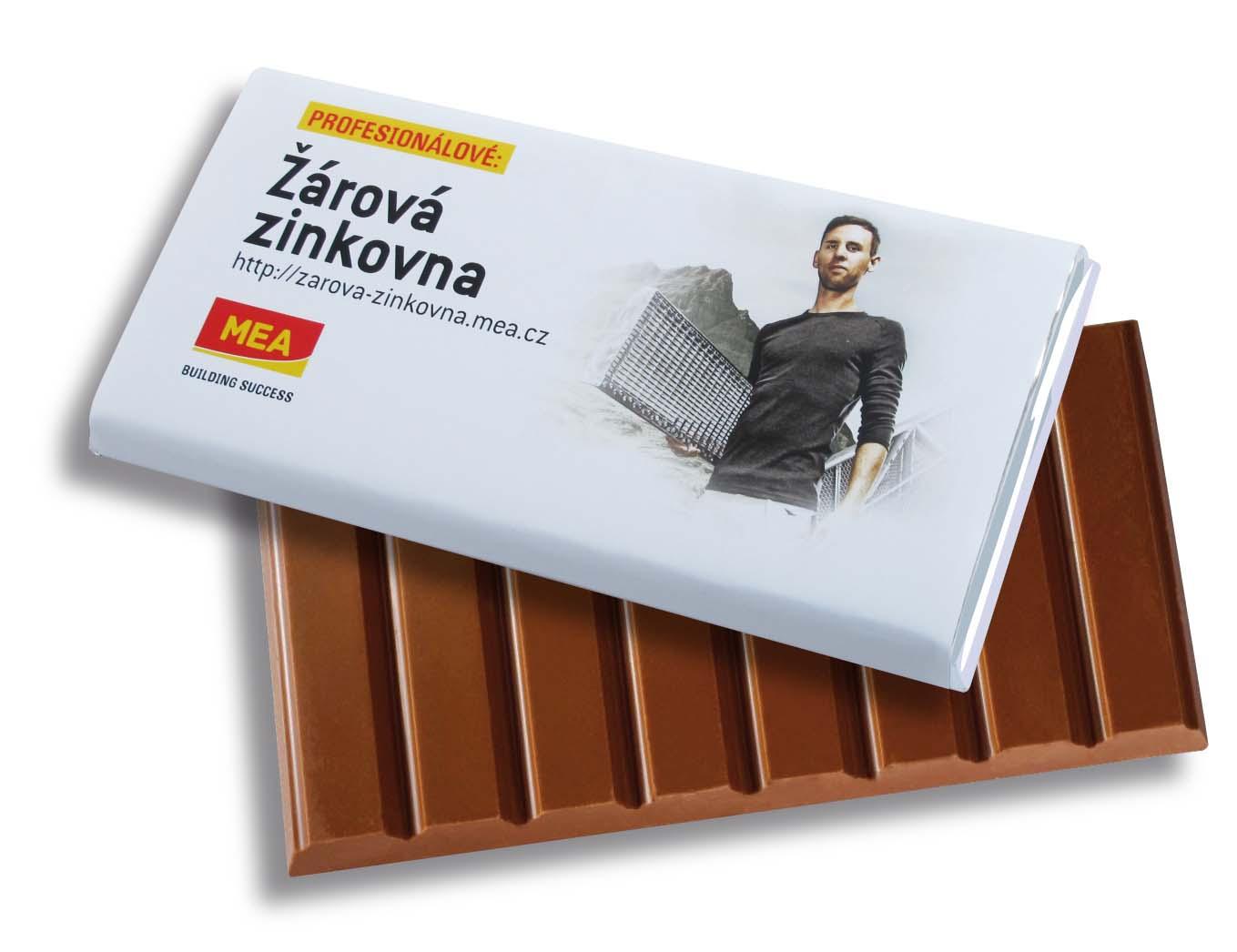 Čokoláda 240g s přebalem