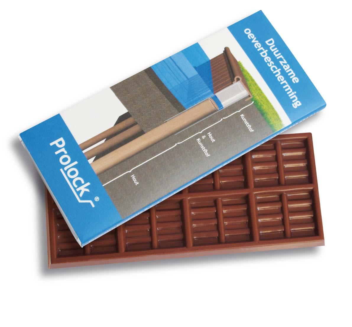 Čokoláda 50g se zalaminovaným rukávem