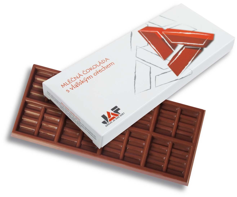 Čokoláda 50g v papírové krabičce