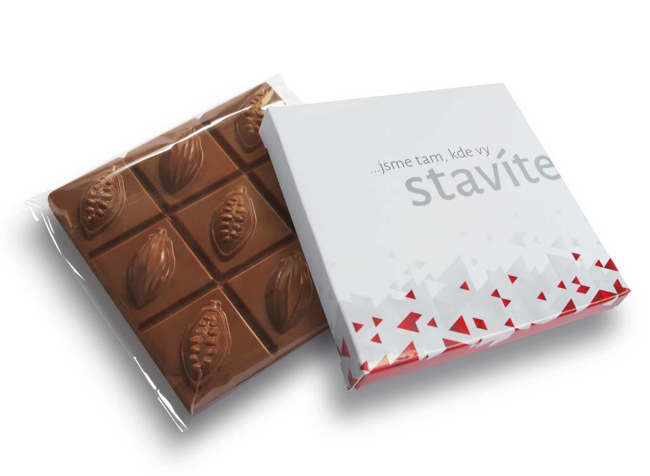Čokoláda 90g čtvercová