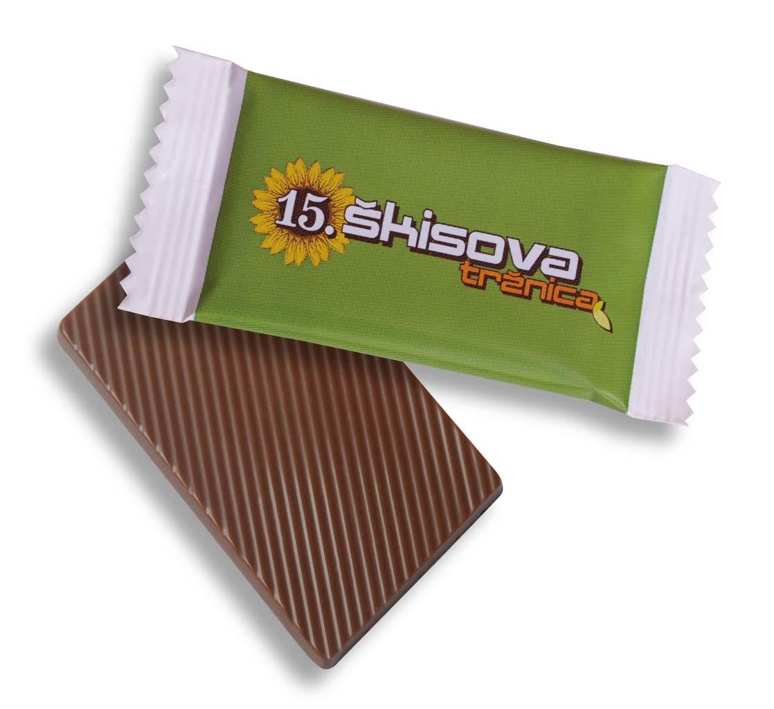 Čokoláda 10,5g flowpack