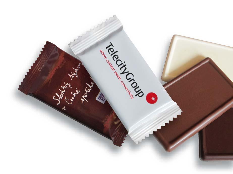 Čokoláda 20g flowpack