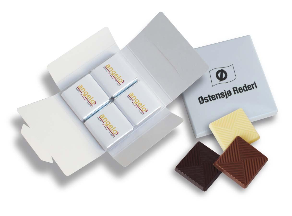 Čokoládová sada 4x5g