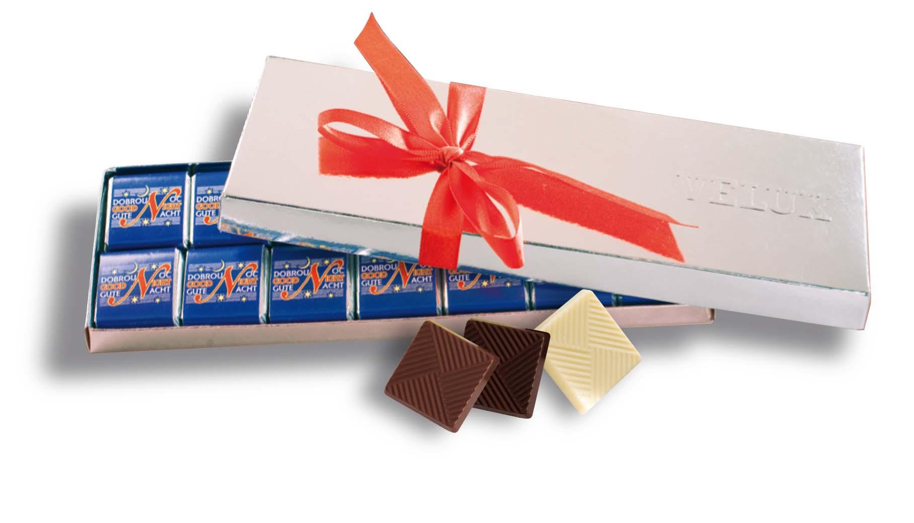 Čokoládová cihla 42x5g