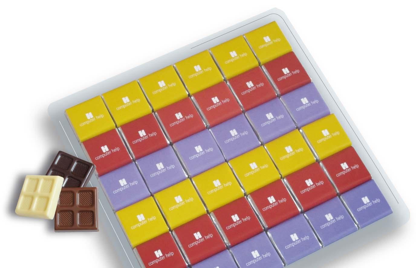 Čokoládová sada 36x5g plast
