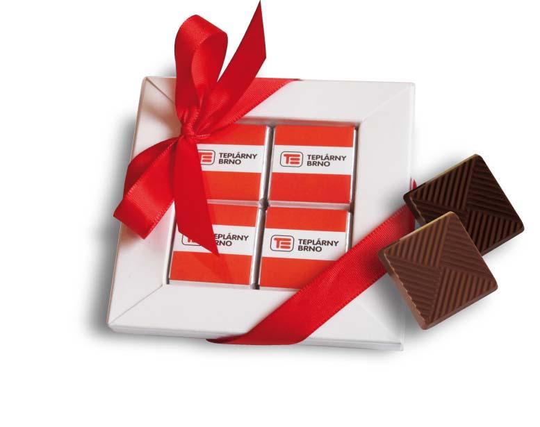 Čokoládová sada 8x5g ( 4x5g), stuha