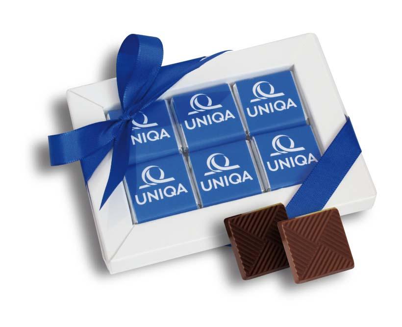 Čokoládová sada 12x5g (6x5g), stuha