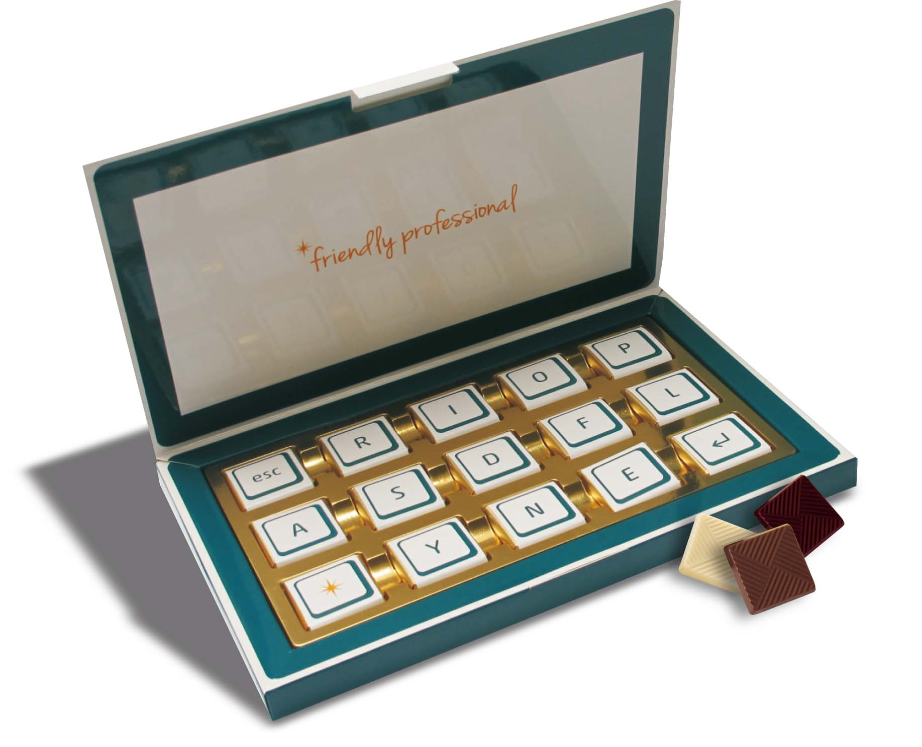 Čokoládová sada 15x5g krabička