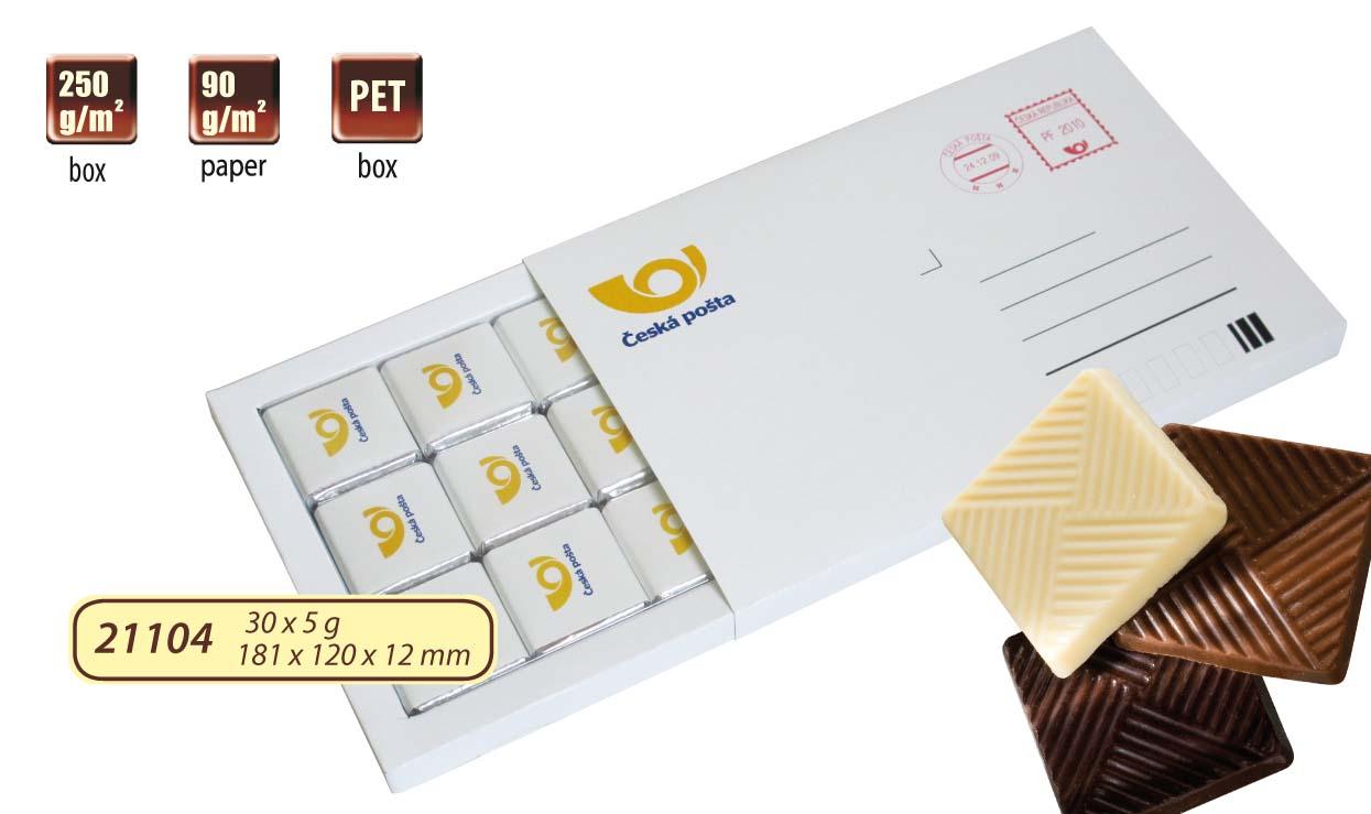 Čokoládové psaní 30x5g (15x5g)