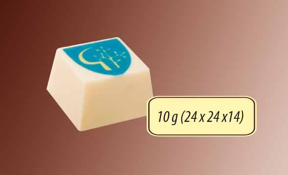 Čokoláda čtverec 10g