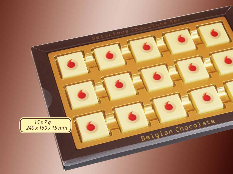 Čokoládová sada 15x7g