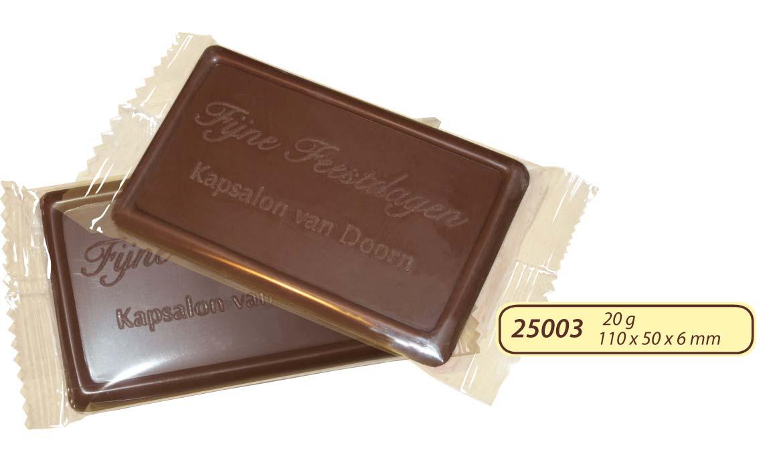 Čokoláda 20g s logem v čokoládě
