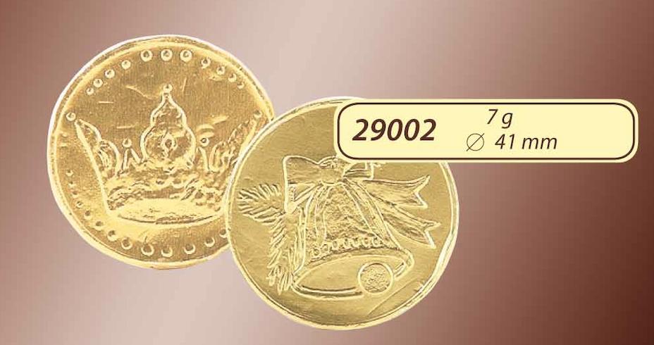 Čokoládová mince 7g