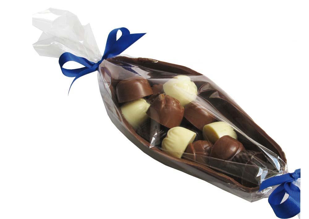 Čokoládový bob s pralinkami 15ks- 270g