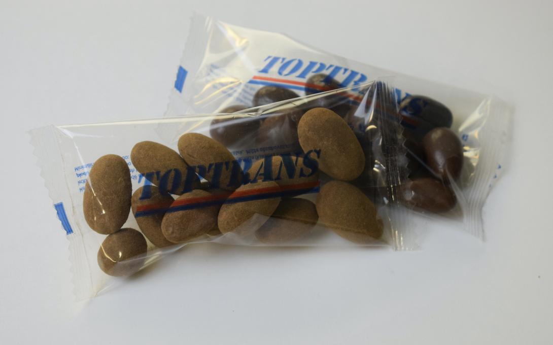 Mandle v čokoládě 10ks