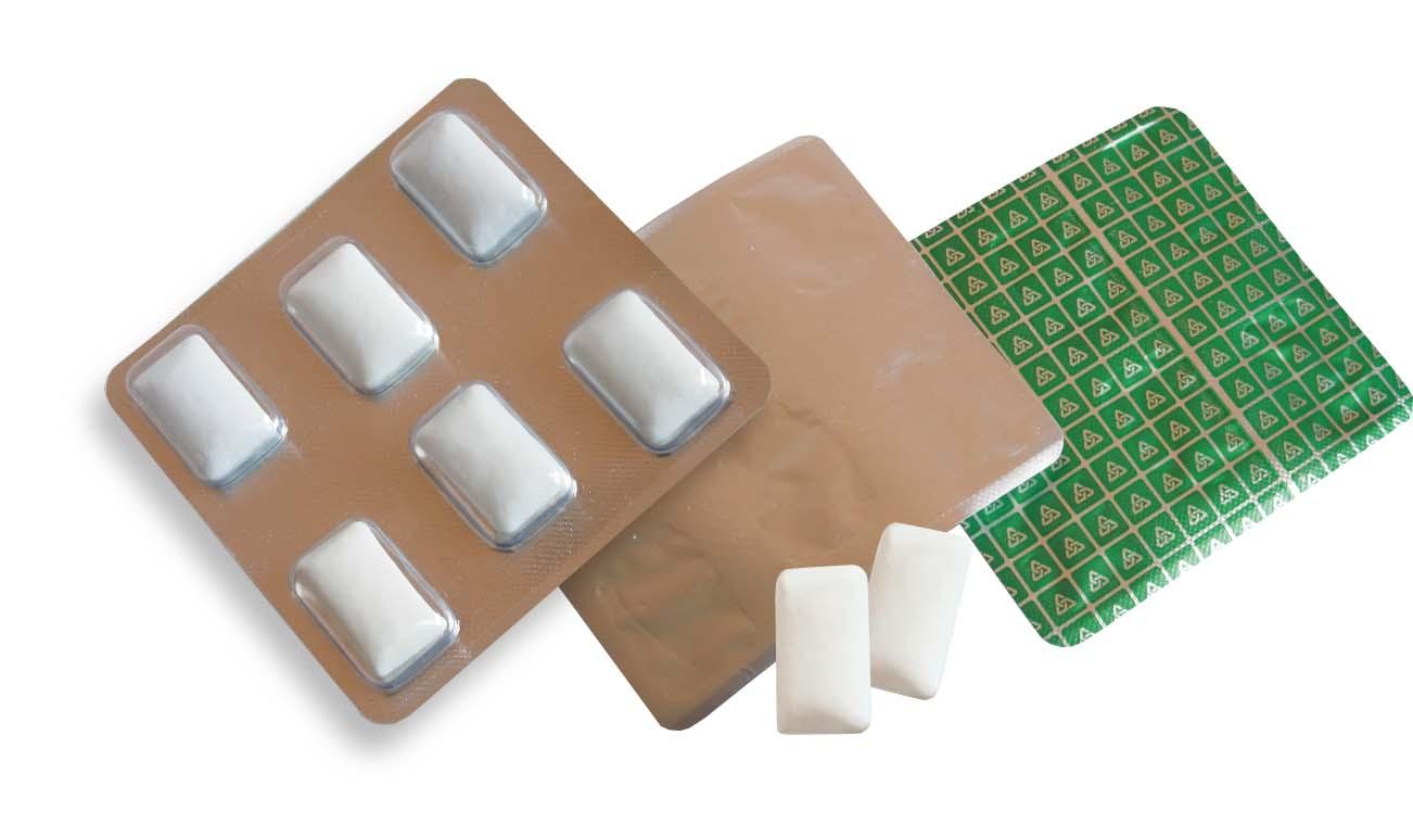 Žvýkačky blistr 6ks nekonečný potisk