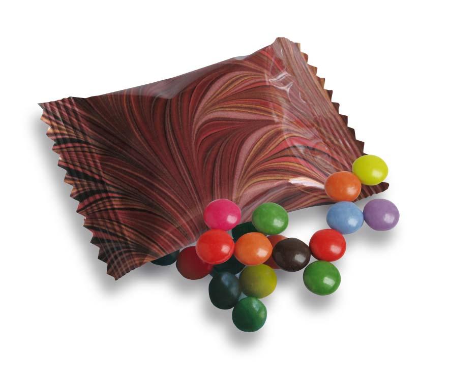 Čokoládové čočky 10g v sáčku - úzký obal
